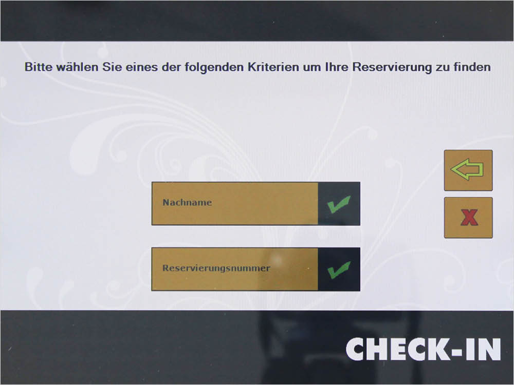 Check-in-Anleitung im Bed+Breakfast